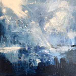 Great Bright Light Abstract painting by Cassandra Gaisford